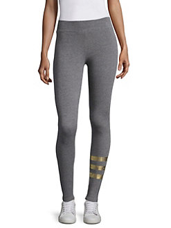 Sundry Striped Yoga Pants