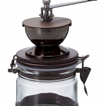 Mario Burr Canister Ceramic Hand Coffee Grinder
